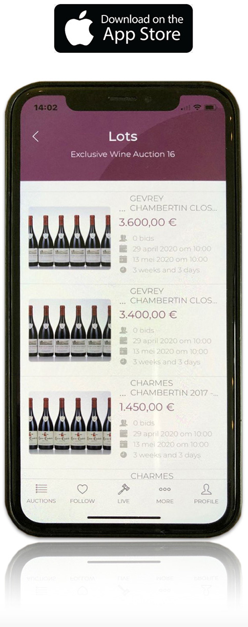 Best Wine Auctions iPhone App